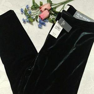 NEW! Velvet leggings Abercrombie & Fitch size M